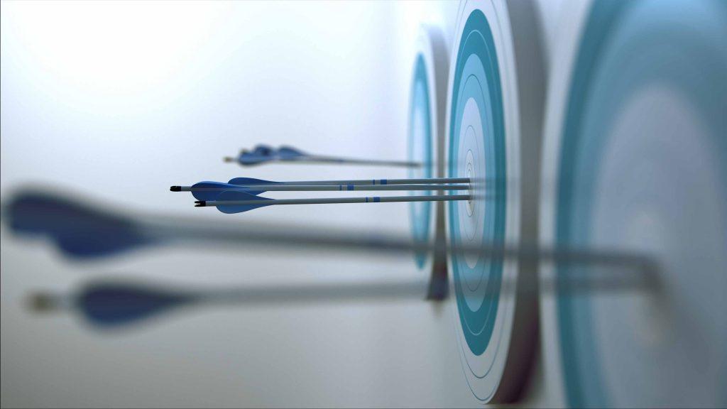 Arrows hit target